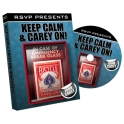 KEEP CALM & CARRY ON -  JOHN CAREY