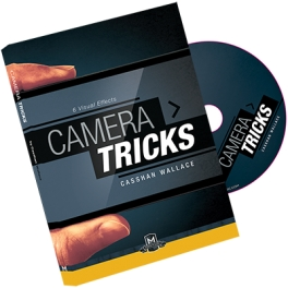 CAMERA TRICKS DVD & GIMMICK  -  CASSHAN WALLACE