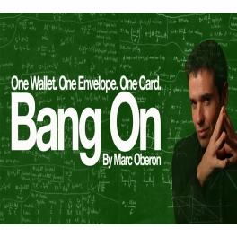 BANG ON 2.0  -  MARC OBERON  pré-commande